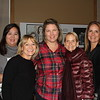 Ericka Giordano, Michelle Brooks, luncheon chair Patti Pascale, Katie Marsh and Denna Sanchez