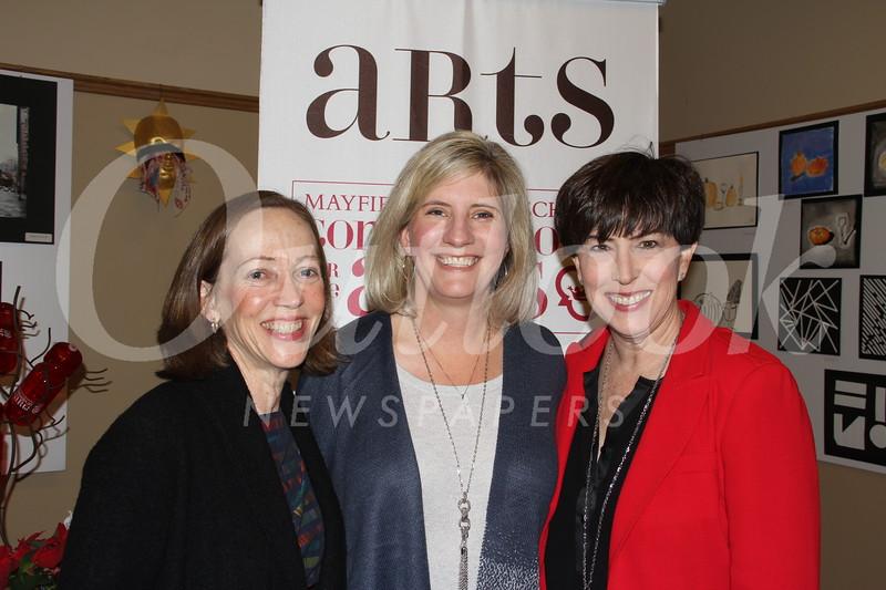 Patty Wickman, Erika Randall and Diane Mechaley