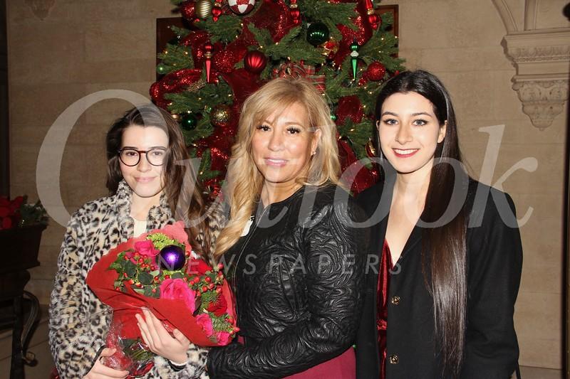 Sarin, Arlene and Brianna GiaVerdi