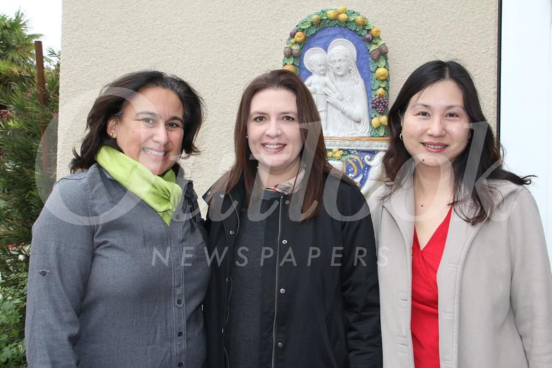 Letty Leifer, Elsie Trujillo and Maria Wijaya