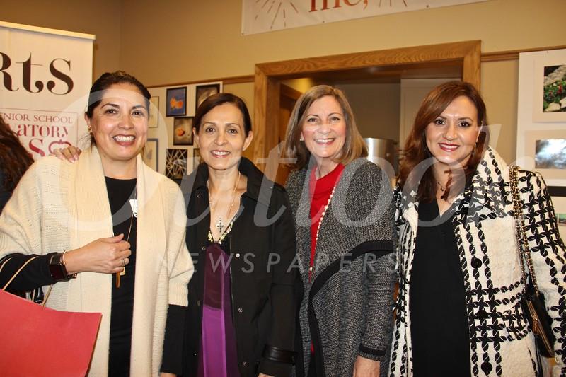 Michelle Delarosa, Irma Huerta, Valerie Leiva and Monica Macias