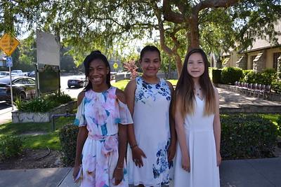 Saint Mark's 6th Graders Say Goodbye