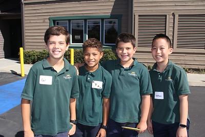 Saint Mark's Students Go Back to School