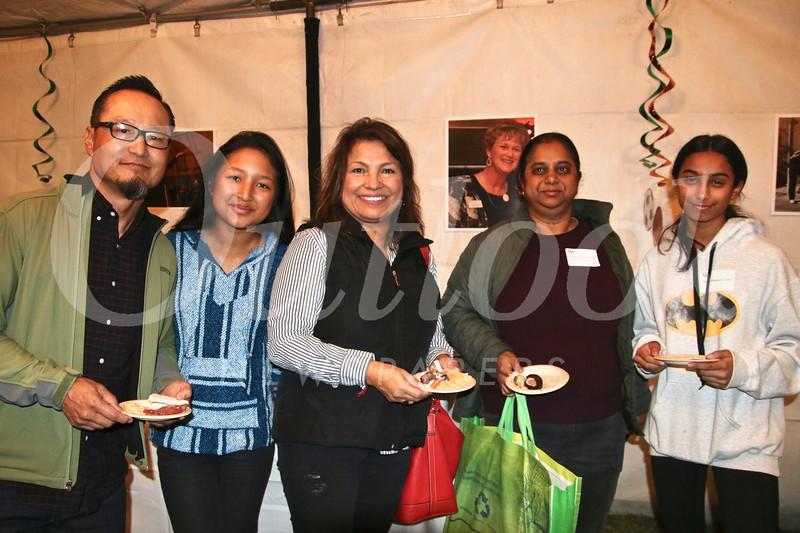 Peter Lowin, Sara Sanchez-Lowin, Mary Lowin, Subhashini Mummoorthy and Maya Parthasarathy