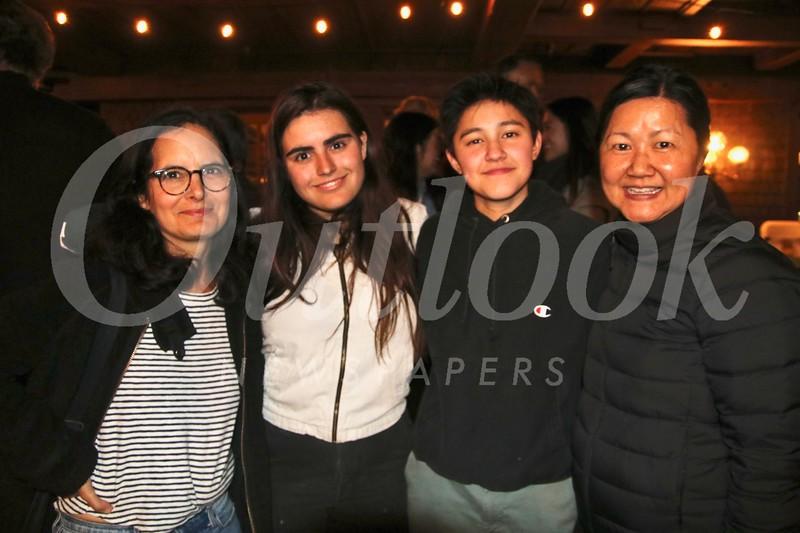 Sophia Nardin, Ella Wood, Quyen Mullin and Tracy Do