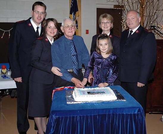 Pasadena Corps of the SA 25th Anniversary, 2006