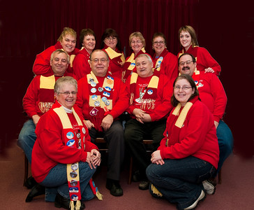Winter Carnival Committee - 2009 Back Row: (L-R) Karen Brake, Olive Coish, Wanda Wight, Mary Foote, Patsy Warrick, Stephanie Ryland Middle Row: (L-R) Gerry Brake, Gary Bishop, John Healey, Bruce Armstrong Front (L-R): Jacqueline Healey, Sabrina Brock