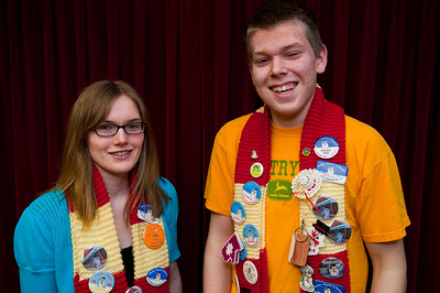 Winter Carnival Ambassadors - Chelsea Smith and Justin Menchions