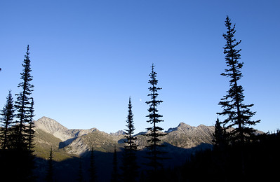 View from Buckskin Lake Camp