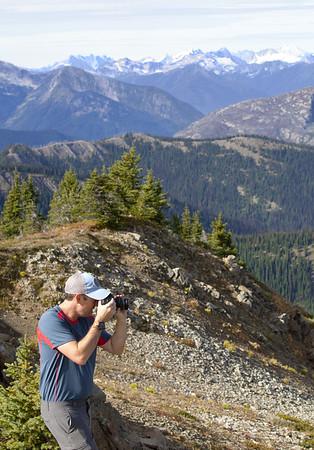 Chris on Lakeview Ridge