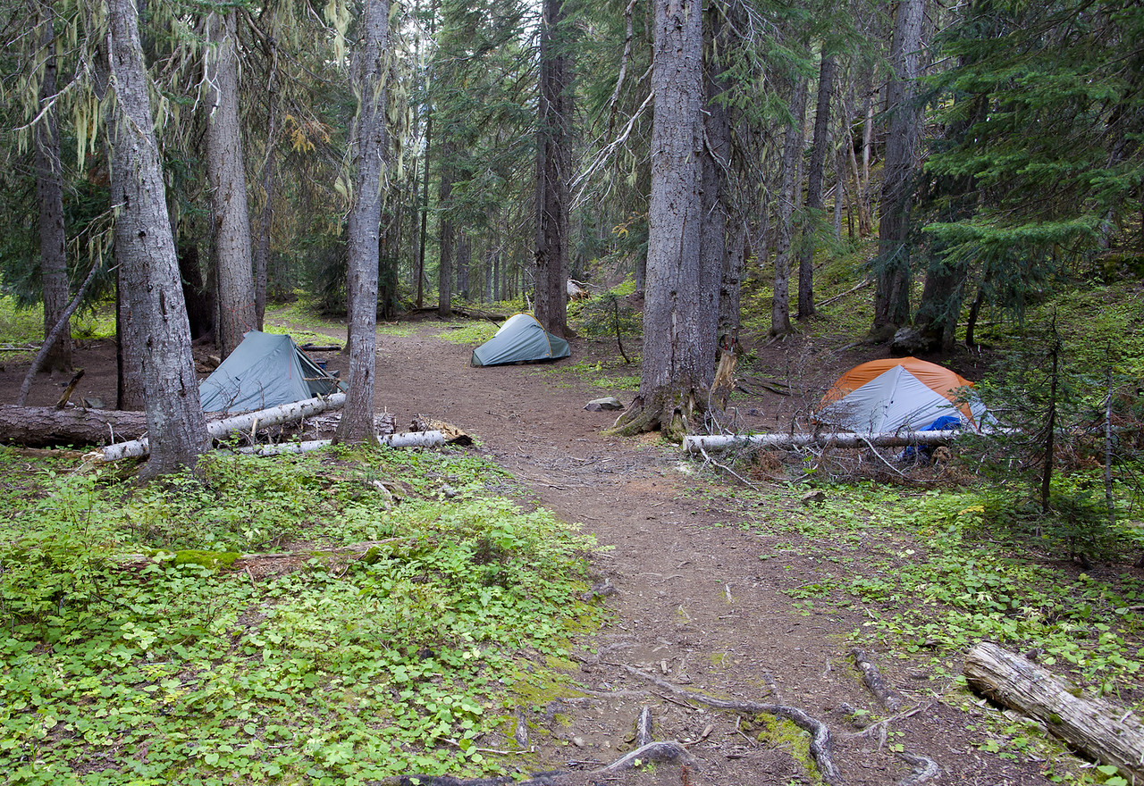 Holman Pass Camp