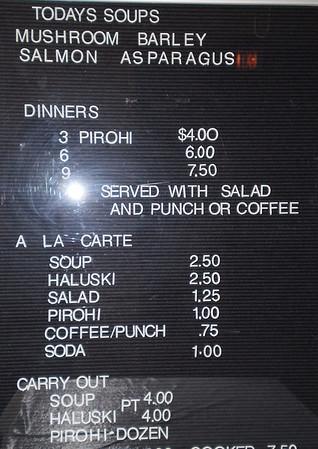 2009 - Lenten Dinners