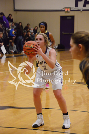 PHS girls basketball vs Arlington Heights 12-6-2016