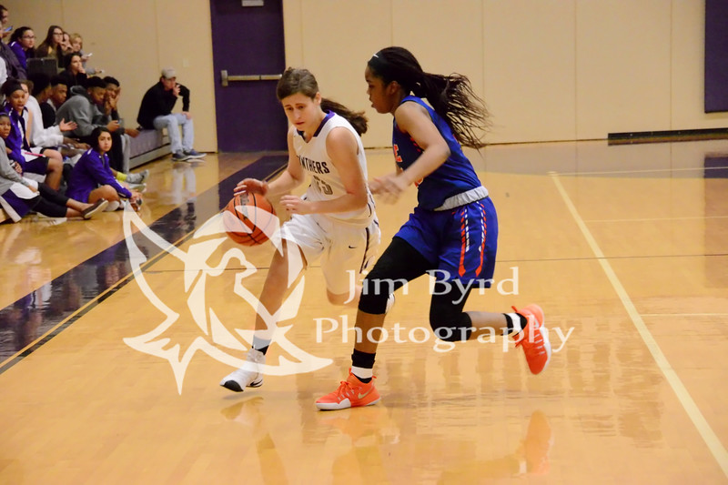 PHS girls basketball vs Bowie 12-16-2016