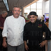 Marty Baugh and Chef Danillo Criollo.