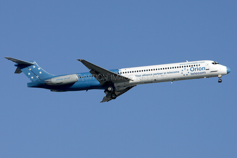ZS-OPX | McDonnell Douglas MD-83 | 1 Time