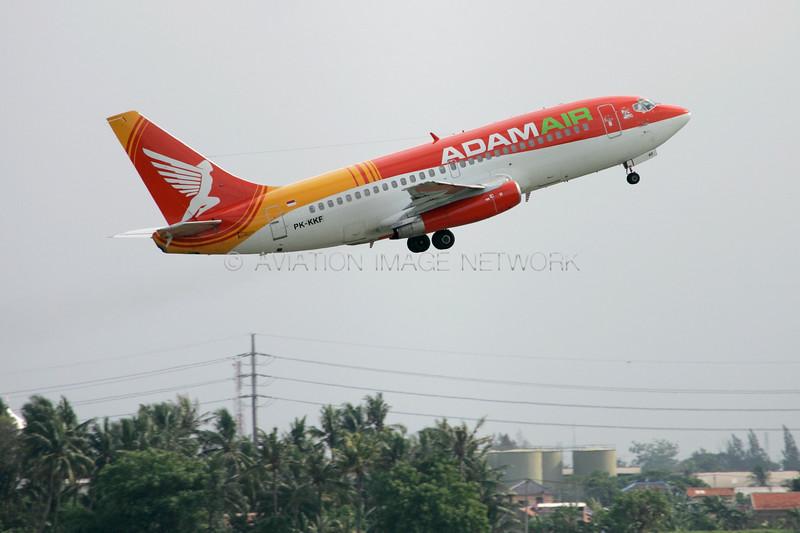 PK-KKF | Boeing 737-291 | Adam Air