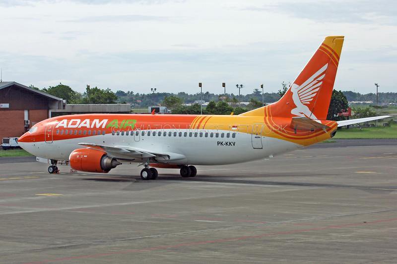 PK-KKV | Boeing 737-33A | Adam Air