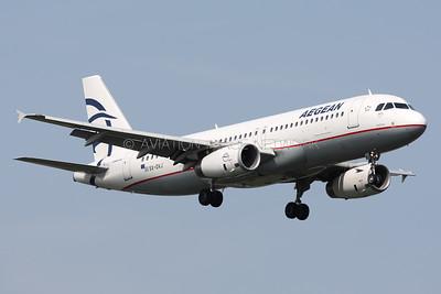 SX-DVJ | Airbus A320-232 | Aegean Airlines
