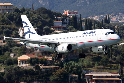 SX-DVN | Airbus A320-232 | Aegean Airlines
