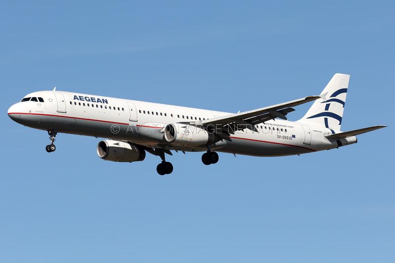 SX-DVO | Airbus A321-231 | Aegean Airlines