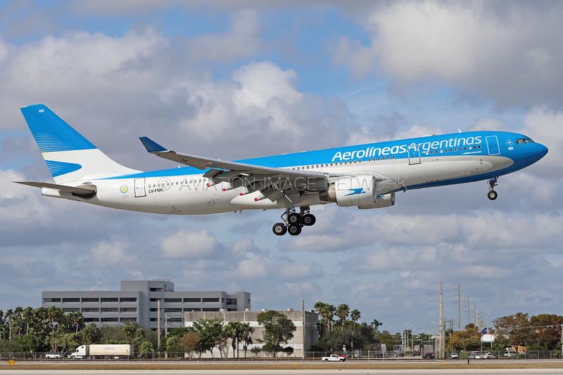 LN-FNK | Airbus A330-223 | Aerolineas Argentinas