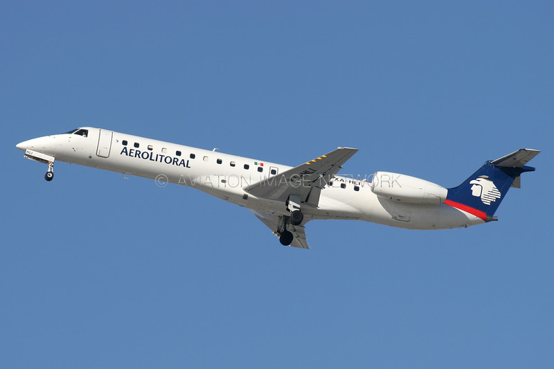 XA-HLI   Embraer ERJ-145   Aerolitoral
