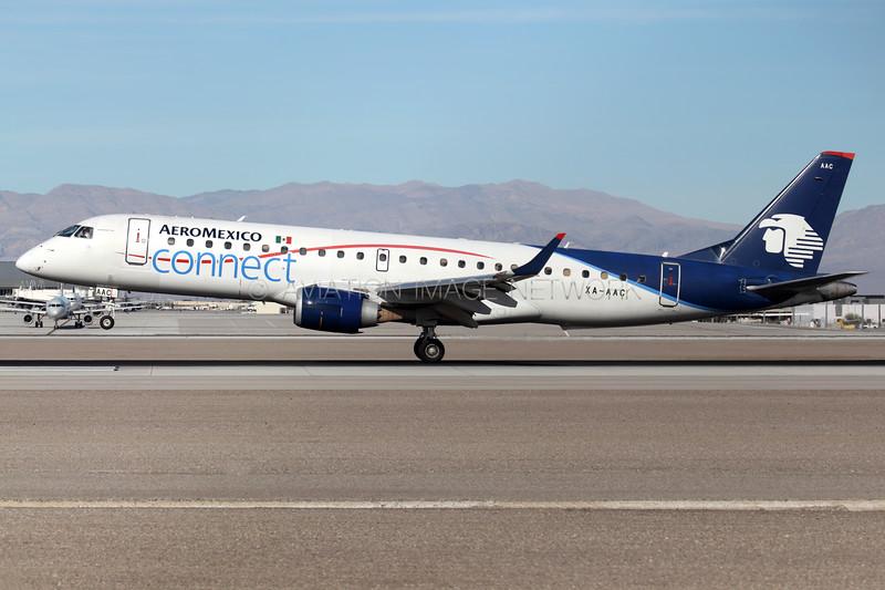 XA-AAC | Embraer ERJ-190LR | AeroMexico Connect