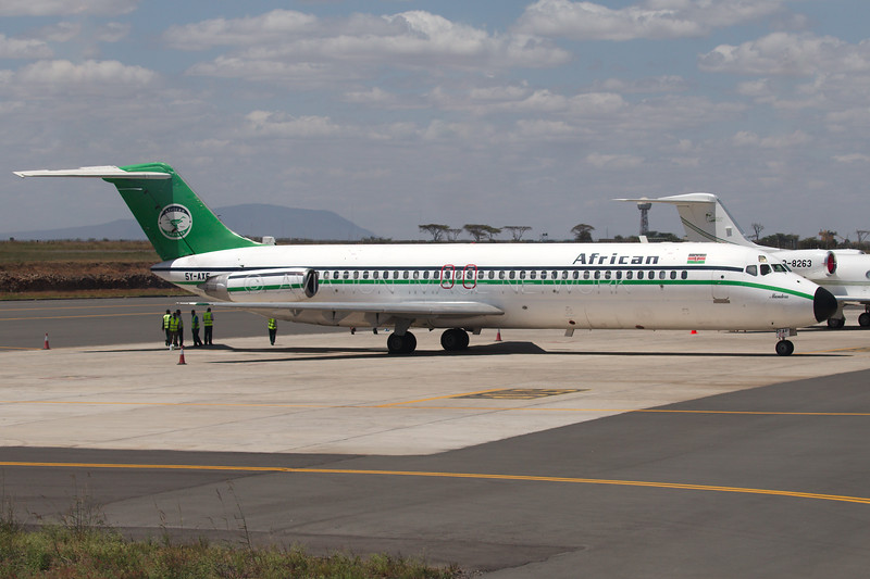 5Y-AXF | McDonnell Douglas DC-9-32 | African Express Airways
