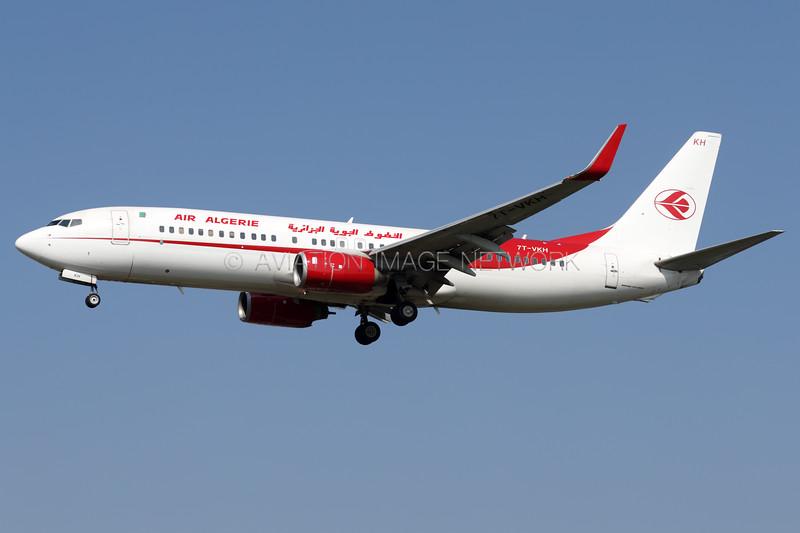 7T-VKH   Boeing 737-8D6   Air Algerie