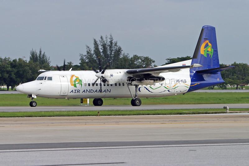 HS-KLD | Fokker 50 | Air Andaman