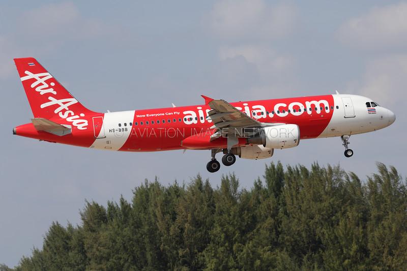 HS-BBB | Airbus A320-216 | AirAsia Thailand
