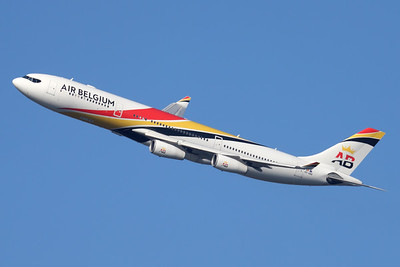 OO-ABA | Airbus A340-313 | Air Belgium