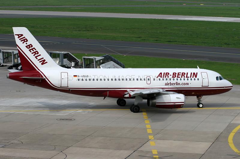 D-ABGD | Airbus A319-132 | Air Berlin