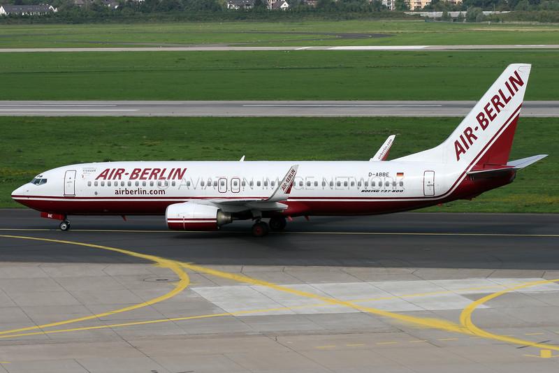 D-ABBE | Boeing 737-86J | Air Berlin