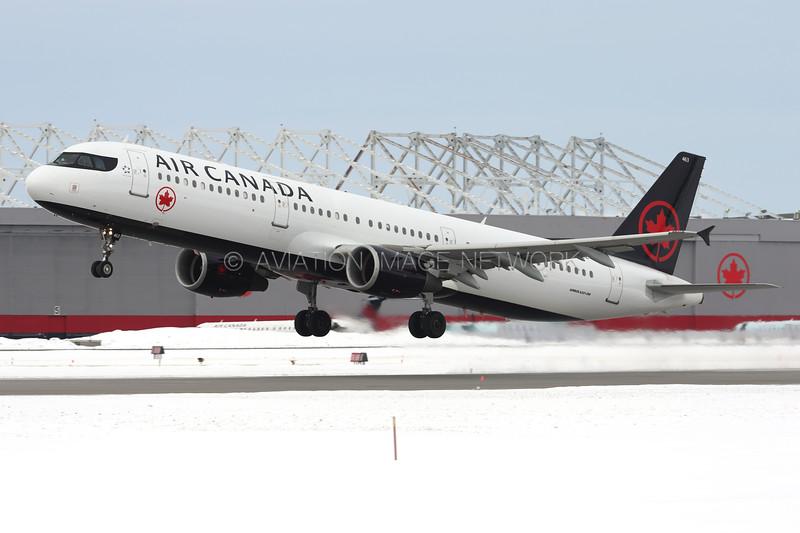 C-FGKZ   Airbus A321-211   Air Canada
