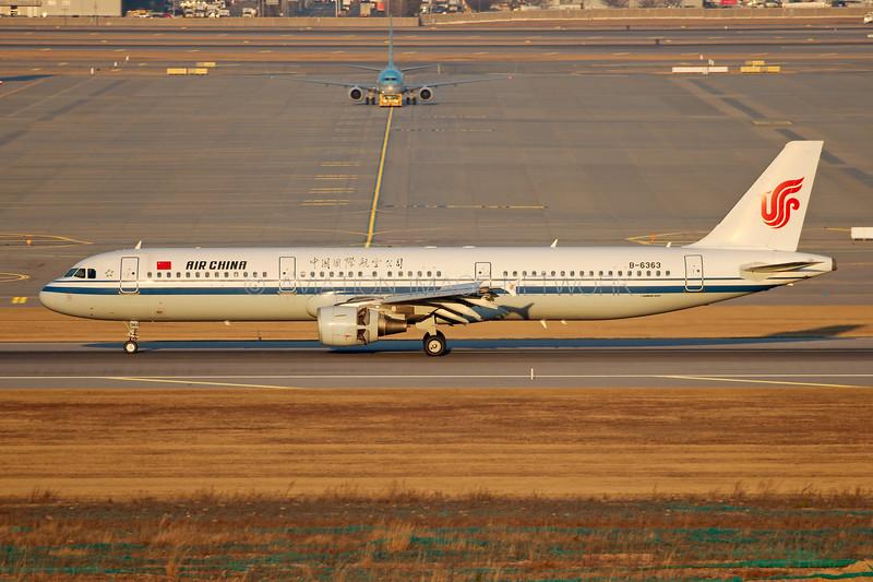 B-6363 | Airbus A321-213 | Air China