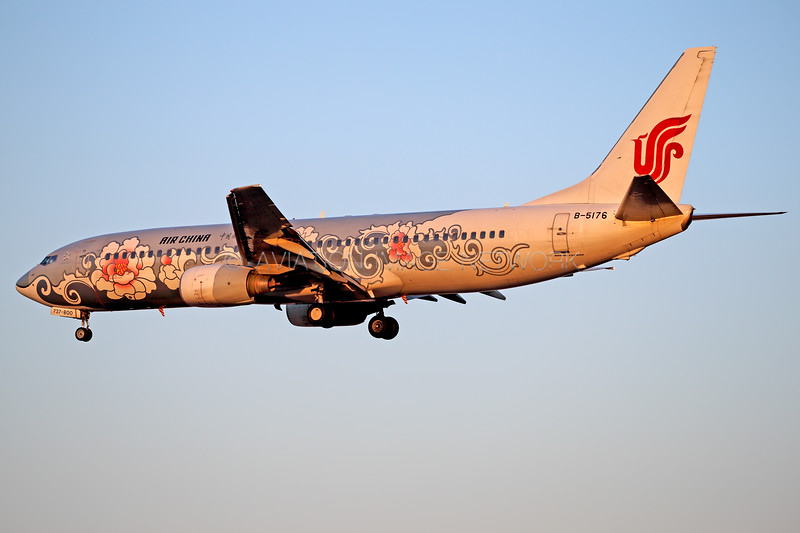 B-5176 | Boeing 737-86N | Air China