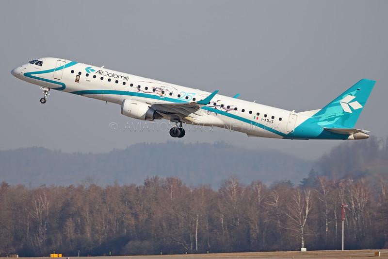 I-ADJS | Embraer ERJ-195LR | Air Dolomiti