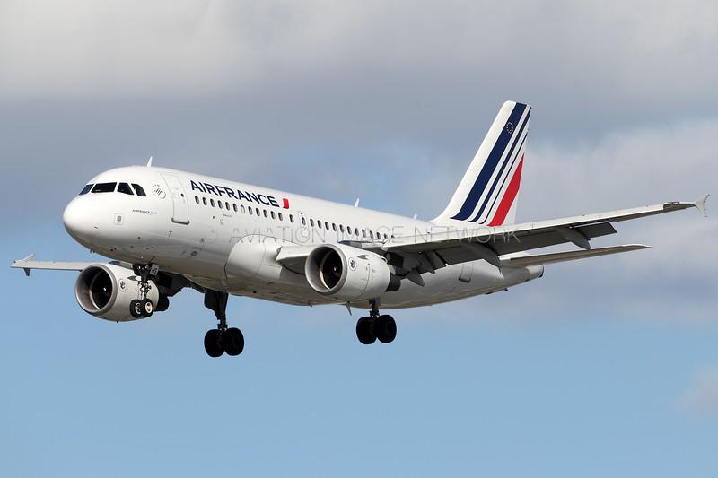 F-GRHS | Airbus A319-111 | Air France