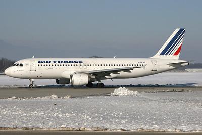 F-GFKZ | Airbus A320-211 | Air France