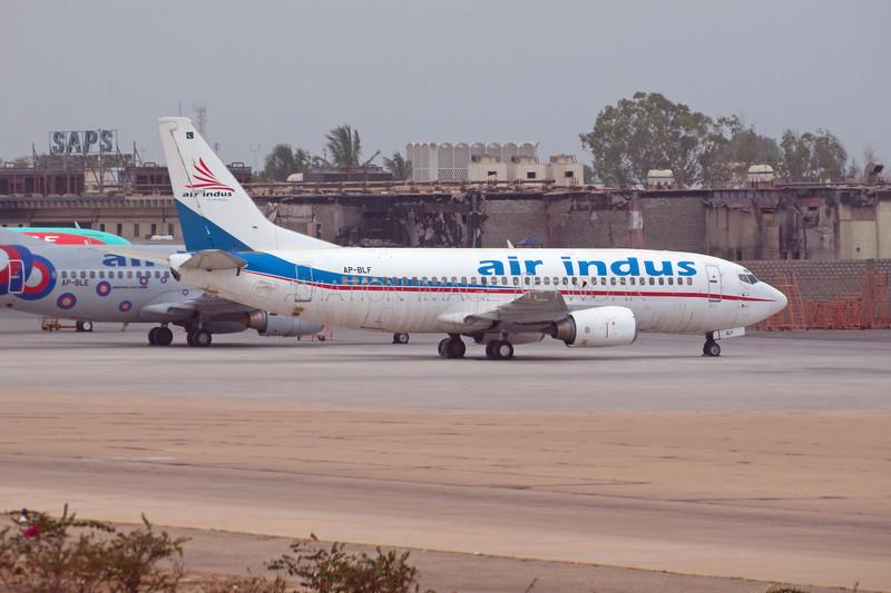 AP-BLF | Boeing 737-33A | Air Indus