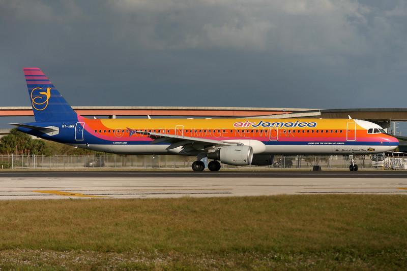 6Y-JMW | Airbus A321-211 | Air Jamaica