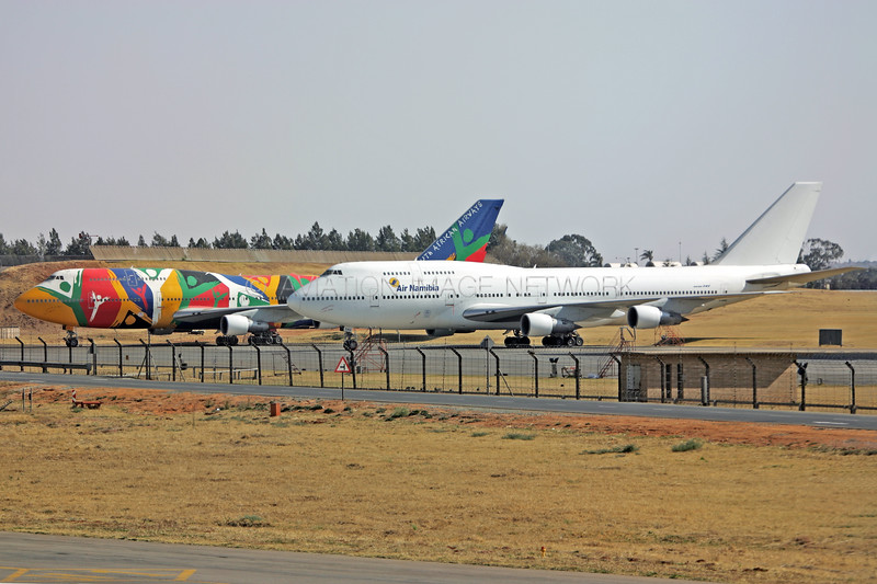 ZS-SAU   Boeing 747-344   Air Namibia   ZS-SAL   Boeing 747-312   South African Airways