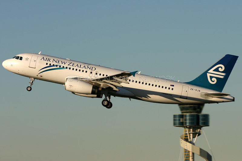 ZK-OJA | Airbus A320-232 | Air New Zealand