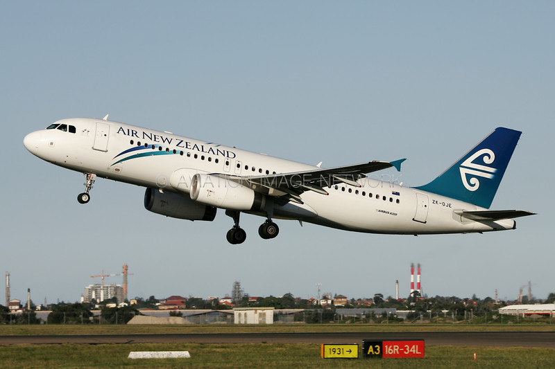 ZK-OJE | Airbus A320-232 | Air New Zealand