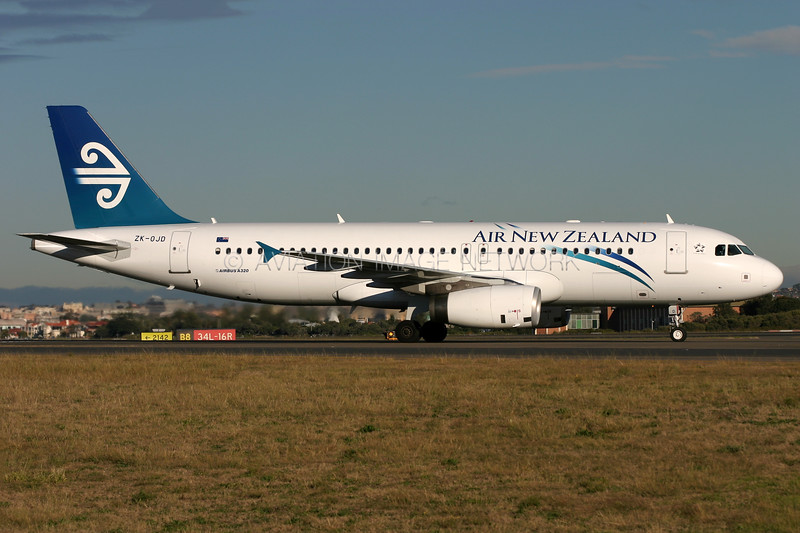 ZK-OJD | Airbus A320-232 | Air New Zealand