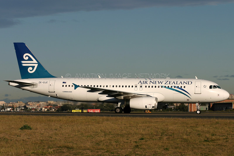 ZK-OJC | Airbus A320-232 | Air New Zealand