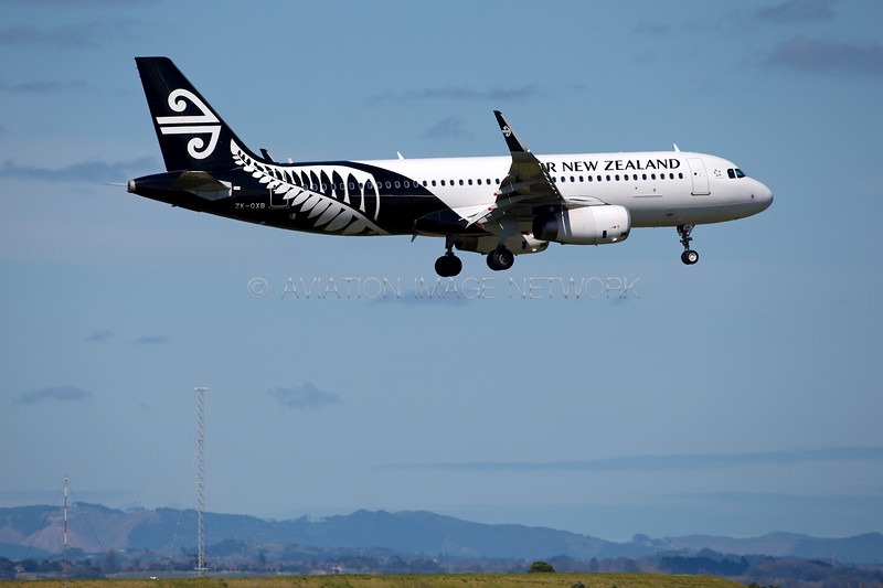 ZK-OXB | Airbus A320-232 | Air New Zealand