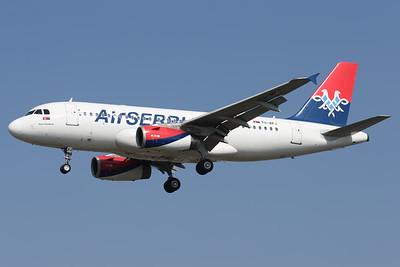 YU-APJ   Airbus A319-132   Air Serbia